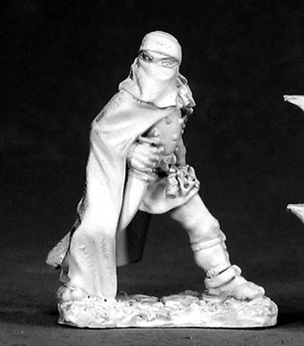 Reaper Miniatures Assassin/Blue Orchid #02588 Dark Heaven Unpainted Metal