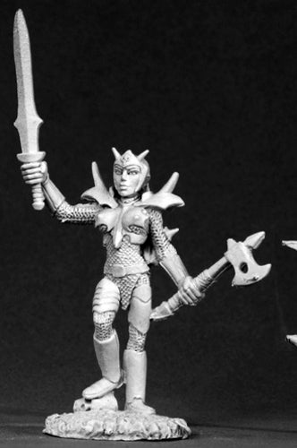 Reaper Miniatures Female Bloodguard #02615 Dark Heaven Legends Unpainted Metal
