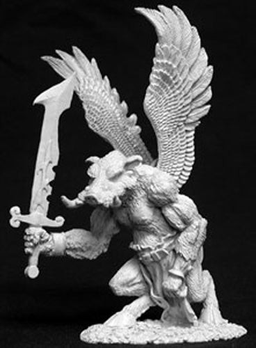 Reaper Miniatures Demon Thornwart #02644 Dark Heaven Legends Unpainted Metal
