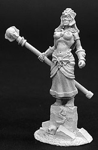 Reaper Miniatures Yanara, High Sorceres #02752 Dark Heaven Unpainted Metal