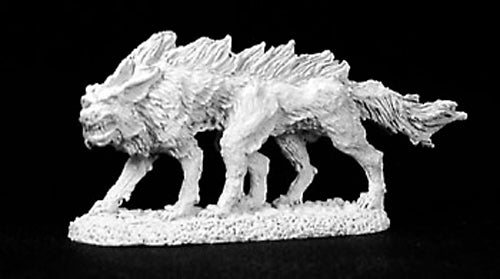 Reaper Miniatures Blood Wolf #02754 Dark Heaven Legends Unpainted Metal Figure