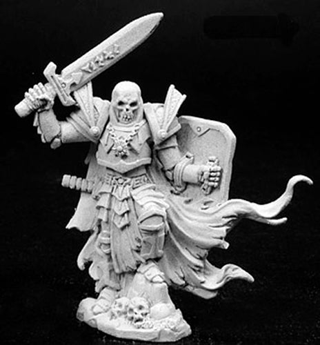 Reaper Miniatures Unpainted Arrius: Black Skeletal Champion 02766 Dark Heaven