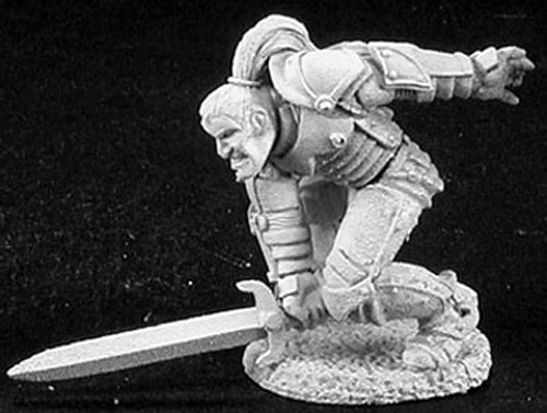Reaper Miniatures Gavin, Warrior Thief #02857 Dark Heaven Unpainted Metal