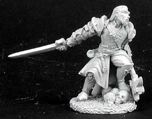 Reaper Miniatures Lord Jester, Mercenary #02884 Dark Heaven Unpainted Metal