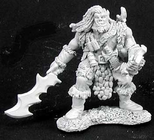 Reaper Miniatures Kanaag Half Orc #02898 Dark Heaven Legends Unpainted Metal