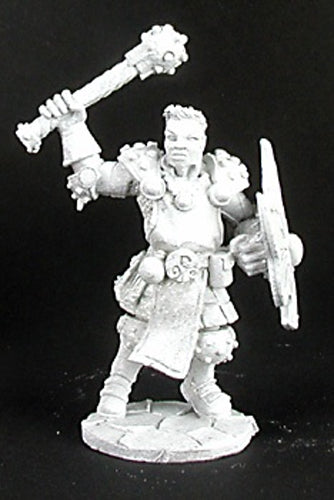Reaper Miniatures Lazarus Ashwinter, Cleric #02949 Dark Heaven Unpainted Metal