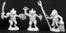 Reaper Miniatures Gogglers (3 Pieces) 02977 Dark Heaven Legends Unpainted Metal