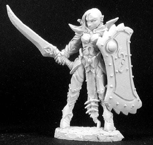 Reaper Miniatures Casiatta, Anti-Paladin #02982 Dark Heaven Unpainted Metal