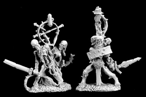 Reaper Miniatures Undead Constructs (2 Pcs) #02984 Dark Heaven Unpainted Metal