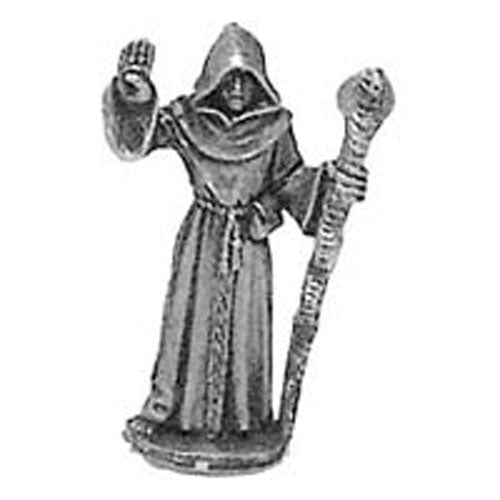 Cleric Cloaked with Staff #03-001 Classic Ral Partha Fantasy RPG Metal Figure