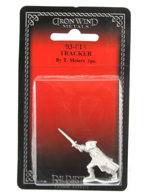 Tracker #03-015 Classic Ral Partha Fantasy RPG Metal Figure