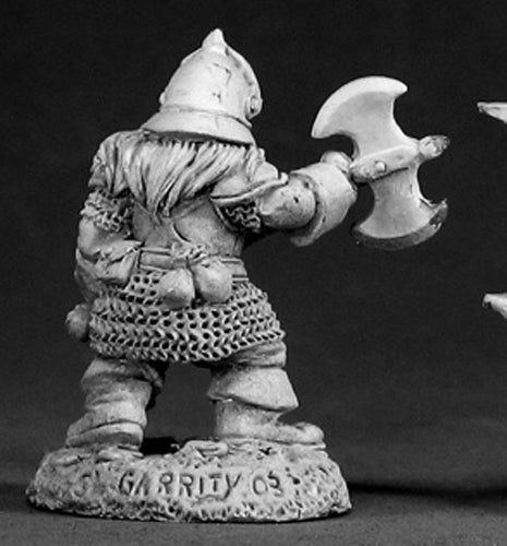 Reaper Miniatures Gar Ironhorn #03002 Dark Heaven Legends Unpainted Metal Figure