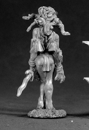 Reaper Miniatures Thelfoea, Medusa #03050 Dark Heaven Legends Unpainted Metal
