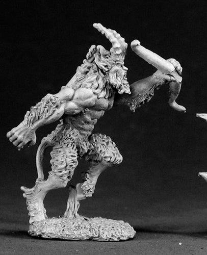 Reaper Miniatures Ibycus, Satyr 03053 Dark Heaven Legends Unpainted Metal Figure
