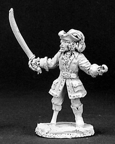 Reaper Miniatures Captain Hook #03164 Dark Heaven Legends Unpainted Metal Figure