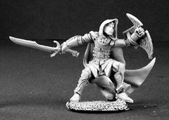 Reaper Miniatures Unpainted Galarian Moonstone, Elf Warrior #03195 Dark Heaven