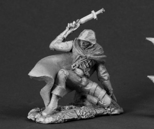 Reaper Miniatures Damon, Male Thief #03237 Dark Heaven Legends Unpainted Metal
