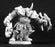 Reaper Miniatures Unpainted Hargak the Flayer, Evil Warrior #03268 Dark Heaven