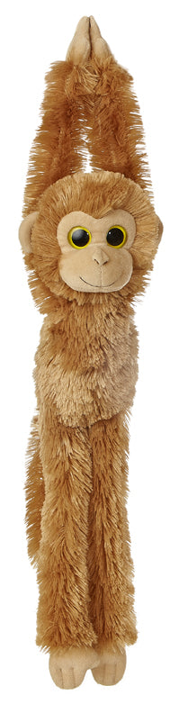 "24"" Aurora World Natural Hanging Monkey Plush Stuffed Animal -Medium Brown Chimp"