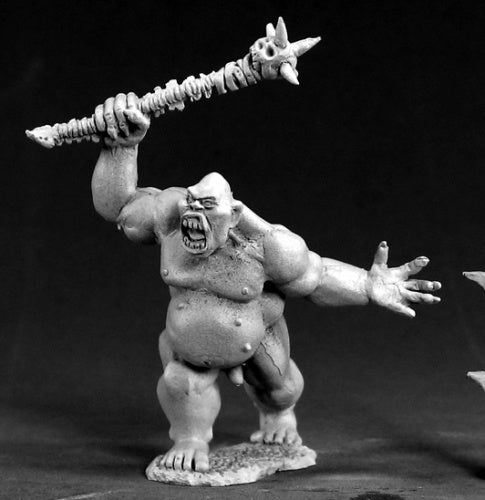 Reaper Miniatures Garravank the Ghoul King #03388 Dark Heaven Unpainted Metal