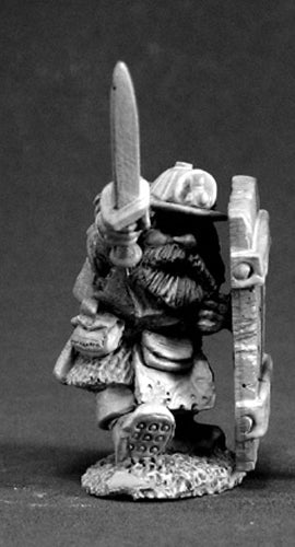 Reaper Miniatures Cobb Blackbadger Dwarf Mine 03417 Dark Heaven Unpainted Metal
