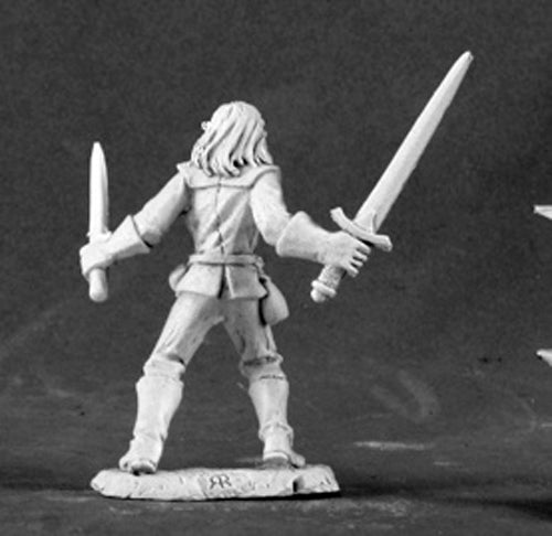 Reaper Miniatures Culk, Young Rake #03452 Dark Heaven Legends Unpainted Metal
