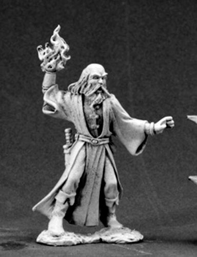 Reaper Miniatures Cadarius, Wizard #03458 Dark Heaven Legends Unpainted Metal