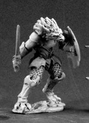 Reaper Miniatures Golanth Half Dragon Warrior 03463 Dark Heaven Unpainted Metal