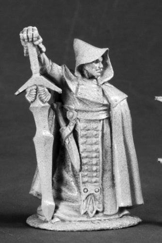 Reaper Miniatures Reeve the Pious Holy Warrior 03498 Dark Heaven Unpainted Mini