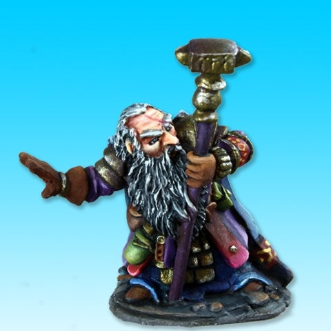 Reaper Miniatures Barden Barrelstrap Dwarf Cleric #03731 Dark Heaven Legends