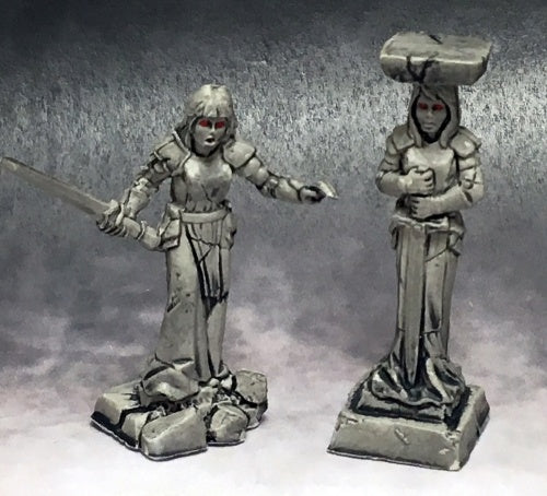 Reaper Miniatures Caryatid Columns #03770 Dark Heaven Legends D&D Mini Figure