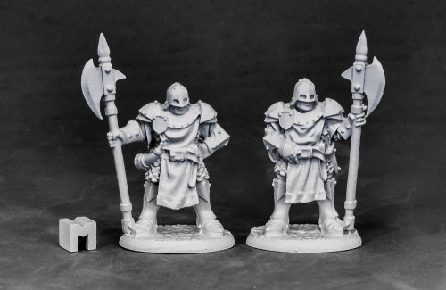 Reaper Miniatures City Guard #03848 Dark Heaven Unpainted Metal