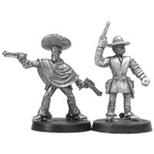 Banditos (2) #04-100 Classic Ral Partha Fantasy RPG Metal Figure