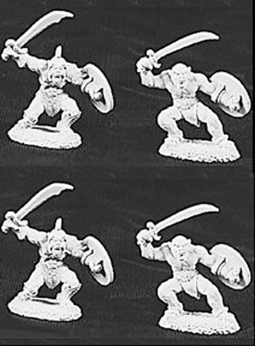 Reaper Miniatures Orc Warriors (4 Pieces) #06009 Dark Heaven Legends Army Packs