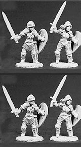 Reaper Miniatures Sisters Of The Blade 4 Pieces #06012 Dark Heaven Legends Army
