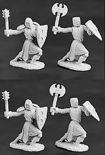 Reaper Miniatures Templar Knights 4 Pieces #06036 Dark Heaven Legends Army Packs