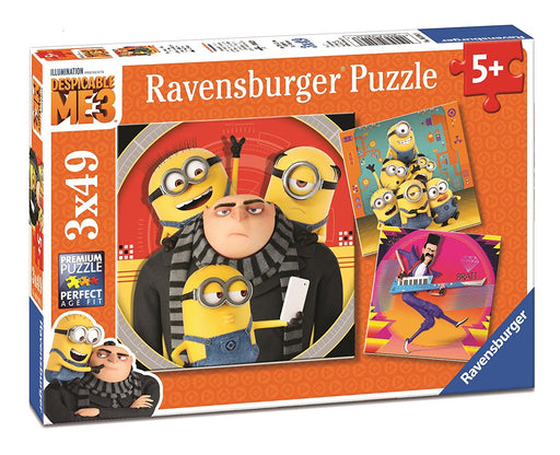Ravensburger Despicable Me3 Jigsaw Puzzle Box - 3 x 49 Piece Puzzles