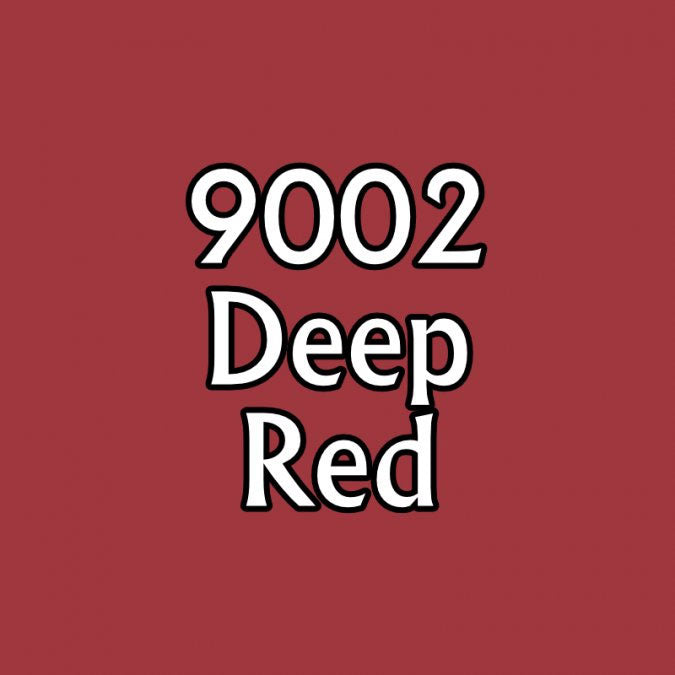 Reaper Miniatures Deep Red #09002 Master Series Paint .5oz in Dropper Bottle