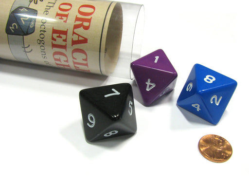 Oracles of Eight Fate Fortune Telling Dice Die Game RPG D&D Board Game Fun