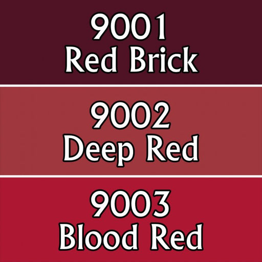 Reaper Miniatures Blood Colors #09701 Master Series Triads 3 Pack .5oz Paint