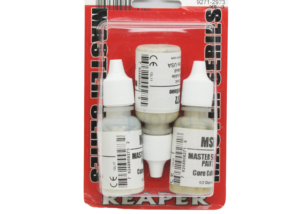 Reaper Miniatures Neutral Bone #09791 Master Series Triads 3 Pack .5oz Paint