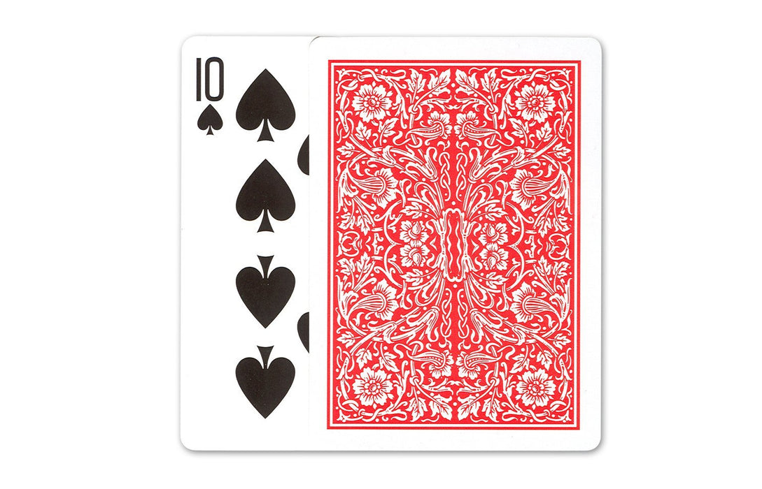 Streamline Pinochle Standard Index Playing Cards - 1 Red Deck and 1 Blue Deck