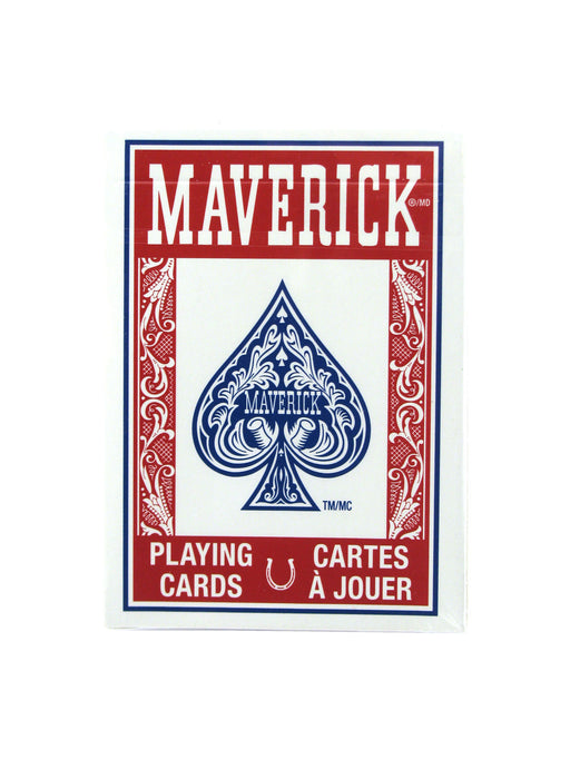 Maverick Standard Index Playing Cards - 1 Sealed Red Deck
