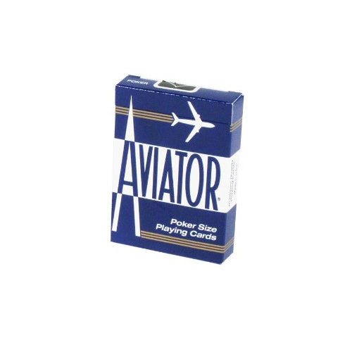 Aviator Standard Index Playing Cards - 1 Sealed Blue Deck