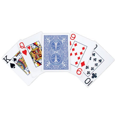 Bicycle Pinochle Jumbo Index Playing Cards - 1 Sealed Blue Deck