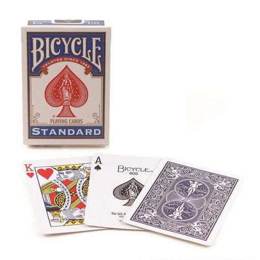 Bicycle Standard Index Poker Playing Cards - 1 Sealed Blue Deck
