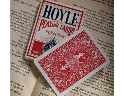 Hoyle Standard Index Playing Cards - 1 Sealed Red Deck
