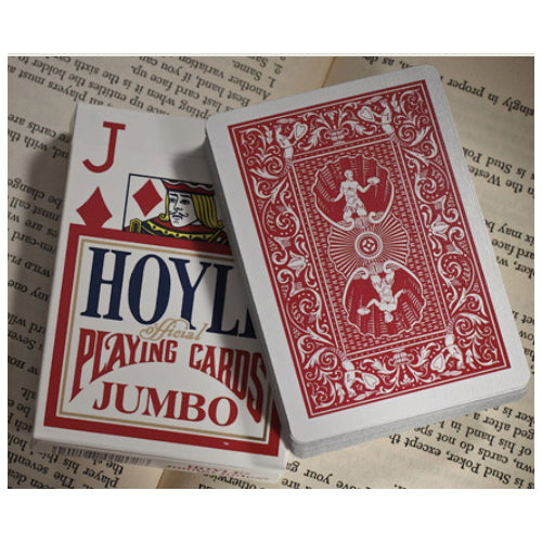 Hoyle Jumbo Index Playing Cards - 1 Sealed Red Deck