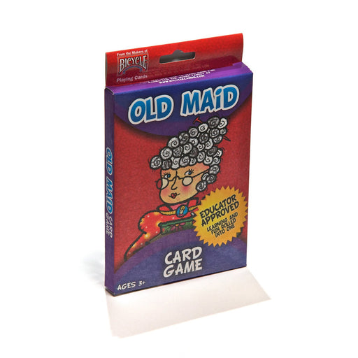 "Bicycle Big Box 3""x5"" Old Maid Kids Playing Cards"