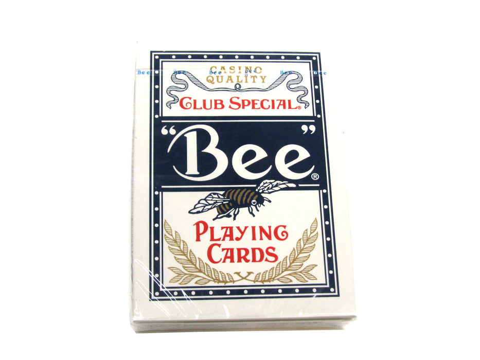 Bee No.92 Standard Index Poker Playing Cards - 1 Sealed Blue Deck